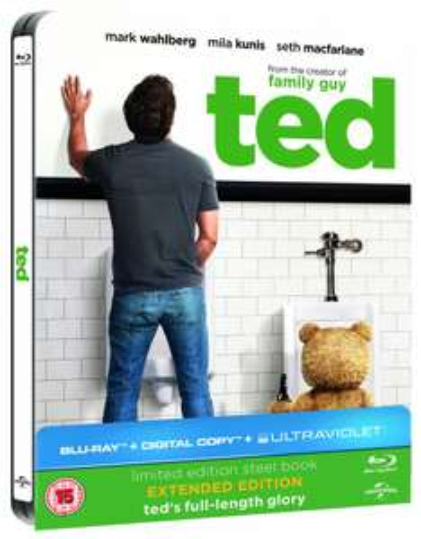 Ted [Blu-ray] Steelbook [UK] VFQ inclus