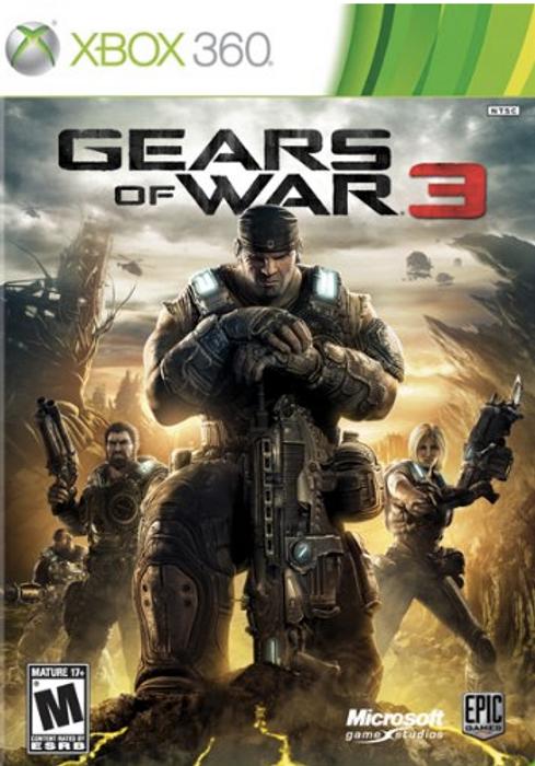 Jeu Gears Of War 3 sur Xbox 360 rétrocompatible Xbox One (Dématérialisé)