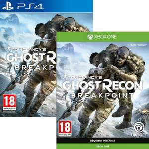Ghost Recon Breakpoint sur PS4 & Xbox One