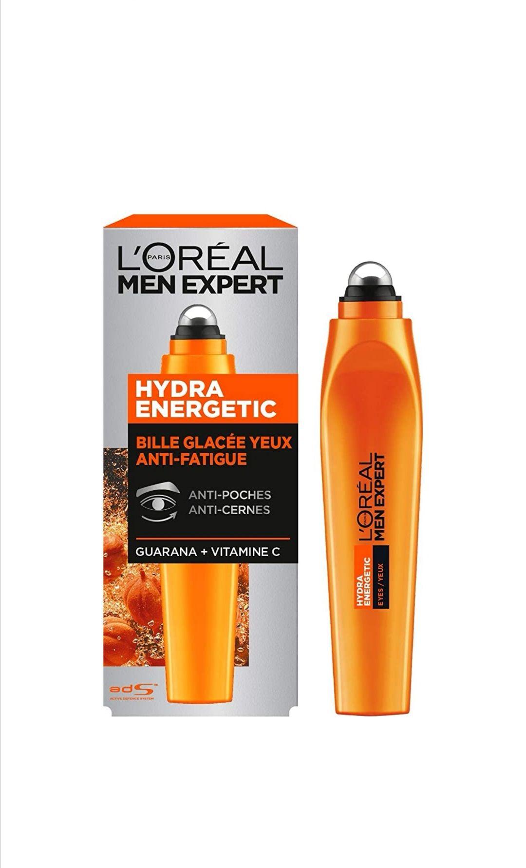 Bille anti-cernes & anti-poches homme L'Oréal Men Expert Hydra Energetic - 10 ml