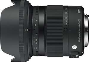 Objectif photo Sigma Objectif 17-70 mm F2,8-4 DC Macro OS HSM Contemporary - Monture Canon