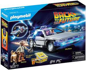Jouet Playmobil Back to the Future DeLorean (70317)