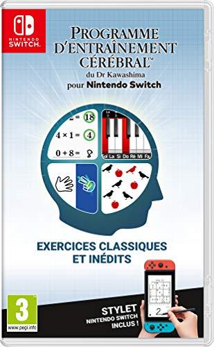 Programme d'entrainement cérébral du Dr Kawashima sur Nintendo Switch