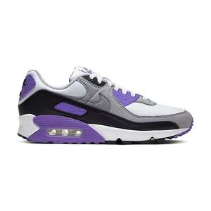 Sneakers Nike Air Max 90 - gris et violet