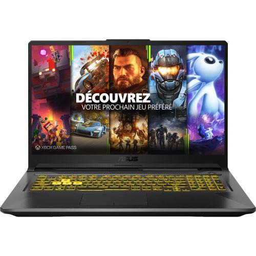"PC Portable Gaming 17,3"" Asus TUF TUF766IU-H7219T - Ryzen 9 4900HS, 16 Go RAM, 1 To SSD, GTX 1660Ti - Gris"