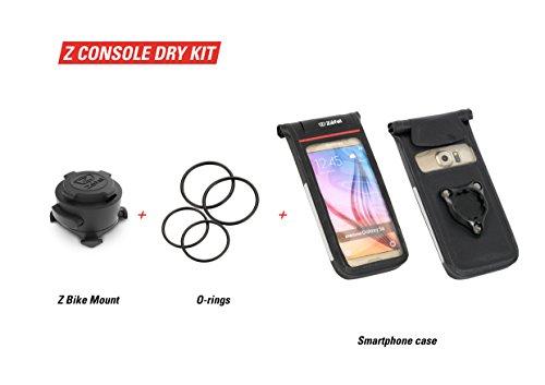 Kit support potence vélo/guidon Moto/Vélo Zéfal Z Console Dry Taille M - Universel et étanche