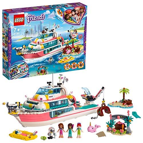 Lego Friends 41381 - Le bateau de sauvetage (Via Coupon)