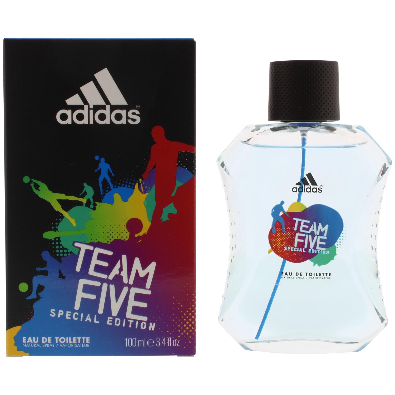 Eau de toilette Adidas Team Five (Diverses variétés) - 100 ml