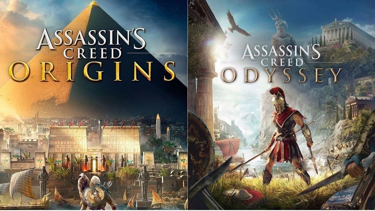 Assassin's Creed Odyssey ou Assassin's Creed Origins sur Xbox One (Dématérialisé - Store Brésilien)
