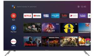 """TV QLED 65"""" Continental Edision - 4K UHD, HDR, Android TV"""