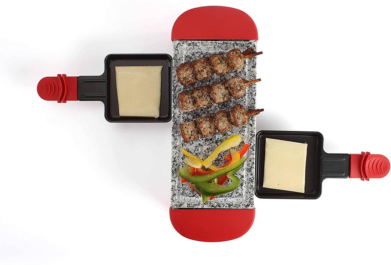 Appareil à raclette Livoo DOC156R - 2 personnes, 350 W