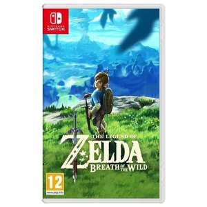 The Legend of Zelda : Breath of the Wild sur Nintendo Switch