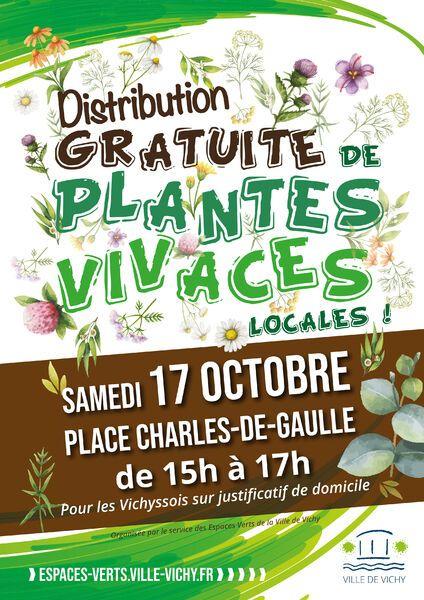 Distribution Gratuite de Plantes Vivaces - Vichy (03)