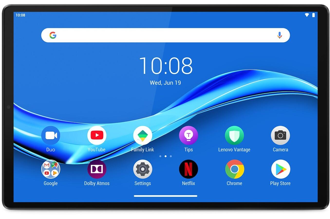 """Tablette 10.3"""" Lenovo Tab M10+ Plus X606 - Full HD, Helio P22T, RAM 4 Go, 64 Go (+ 15.97€ sur la carte pour les Adhérents)"""