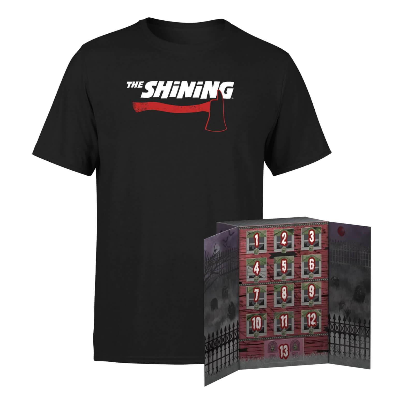 Lot Calendrier Funko pop! 13 Jours Halloween + T-Shirt The Shining