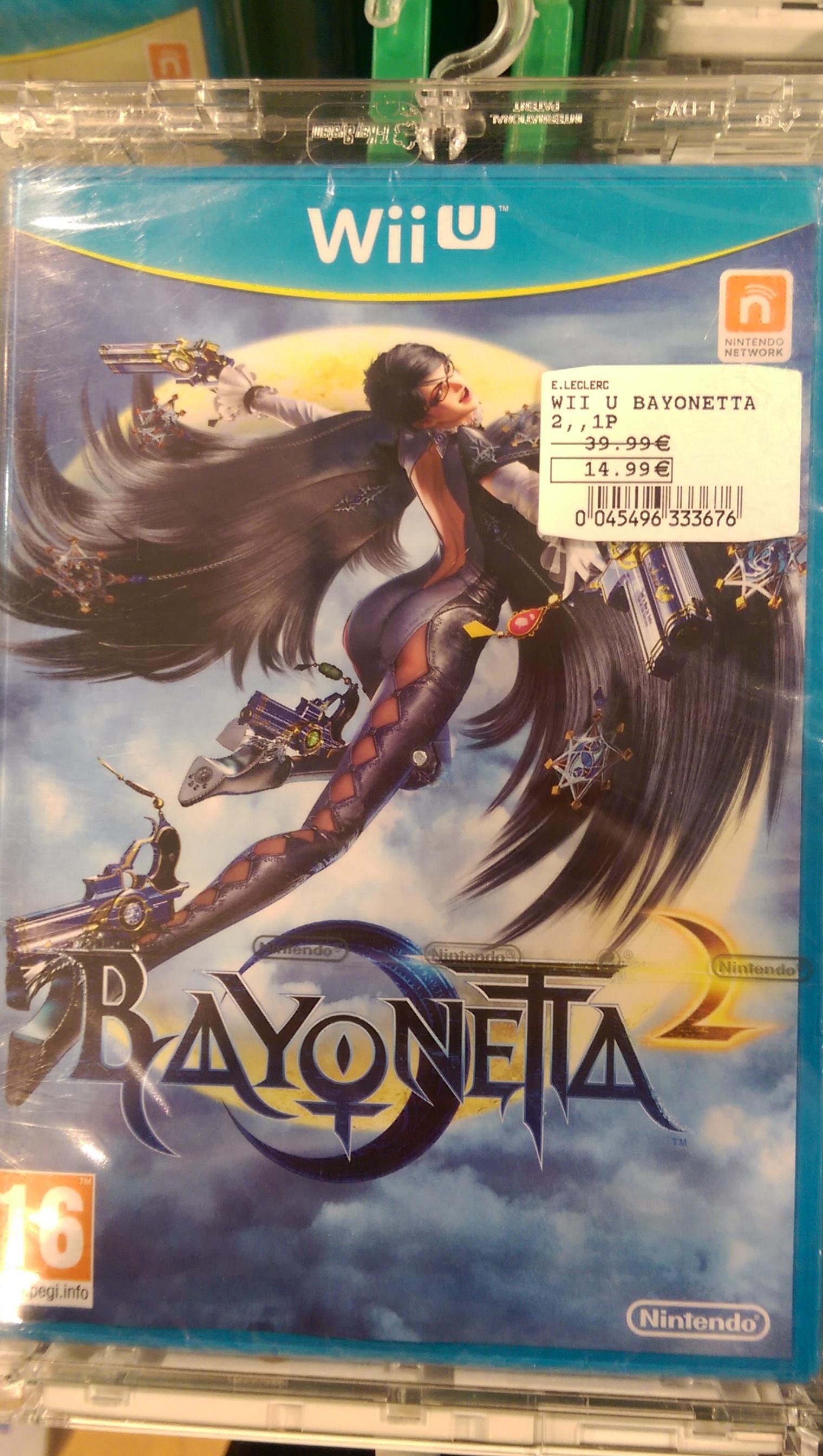 Bayonetta 2 en solde