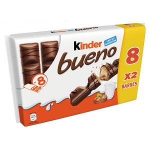 Lot de 1 paquet de 8 Kinder Bueno - 344g (via 1,52€ sur la carte de fidélité)