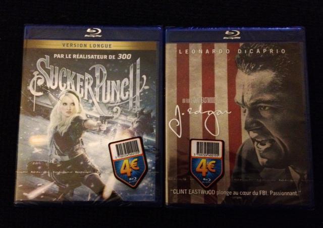 Sélection de films en Blu-rays