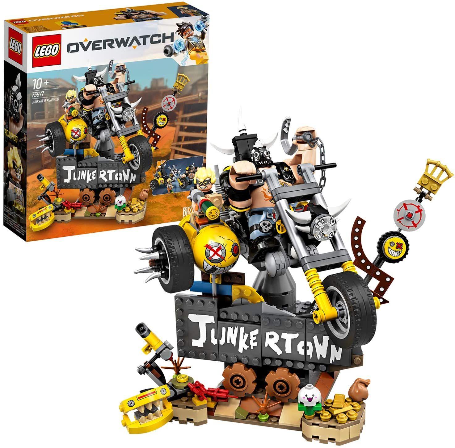Jouet LEGO Overwatch 75977 - Chacal et Chopper (Via coupon)