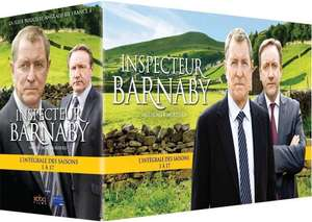 Coffret DVD : Inspecteur barnaby saison 1 à 17