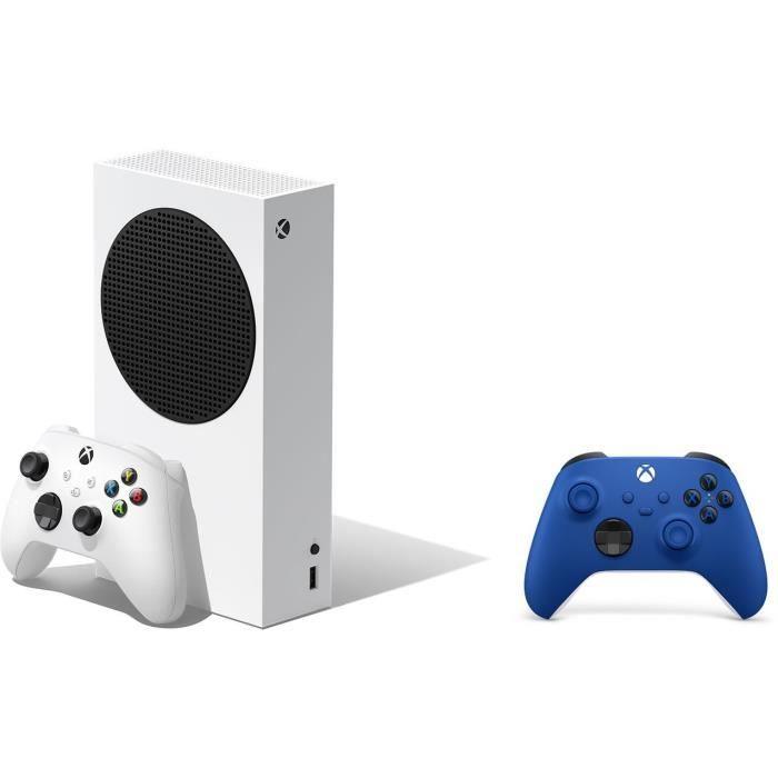 [Précommande] Console Microsoft Xbox Series S + 2ème Manette Bleue