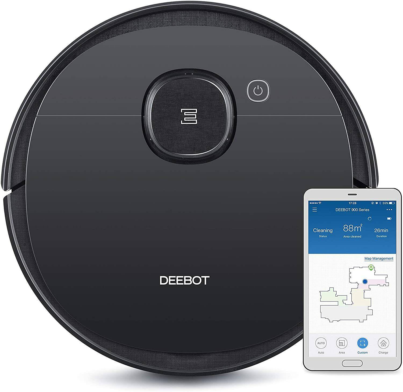 Aspirateur robot 2 en 1 Ecovacs Deebot Ozmo 950 - Fonction Serpillère, Google Home, Alexa et App control