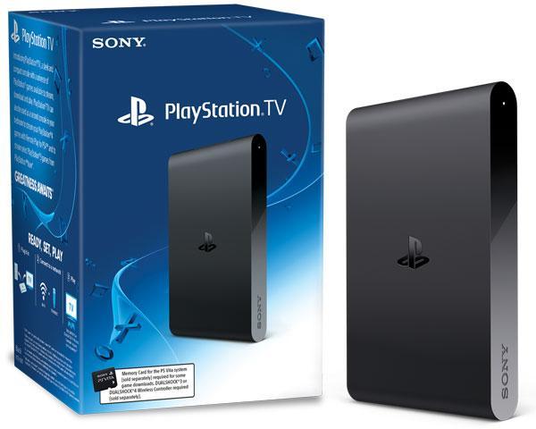 Playstation TV + 3 jeux (Dématérialisés)