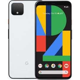 "Smartphone 6,3"" Google Pixel 4 XL - 64 Go, Dual SIM, Blanc (Frontaliers Allemagne)"