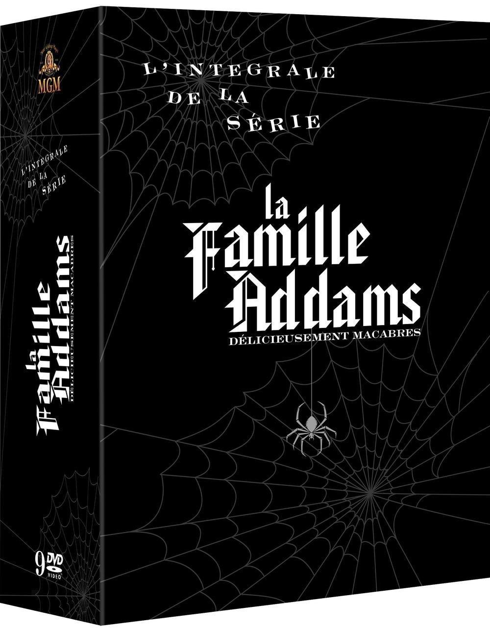 Coffret DVD L'intégrale Famille Addams