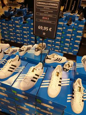 Chaussures Adidas Super Star - Différentes tailles - Adidas Outlet Plaisir (78)