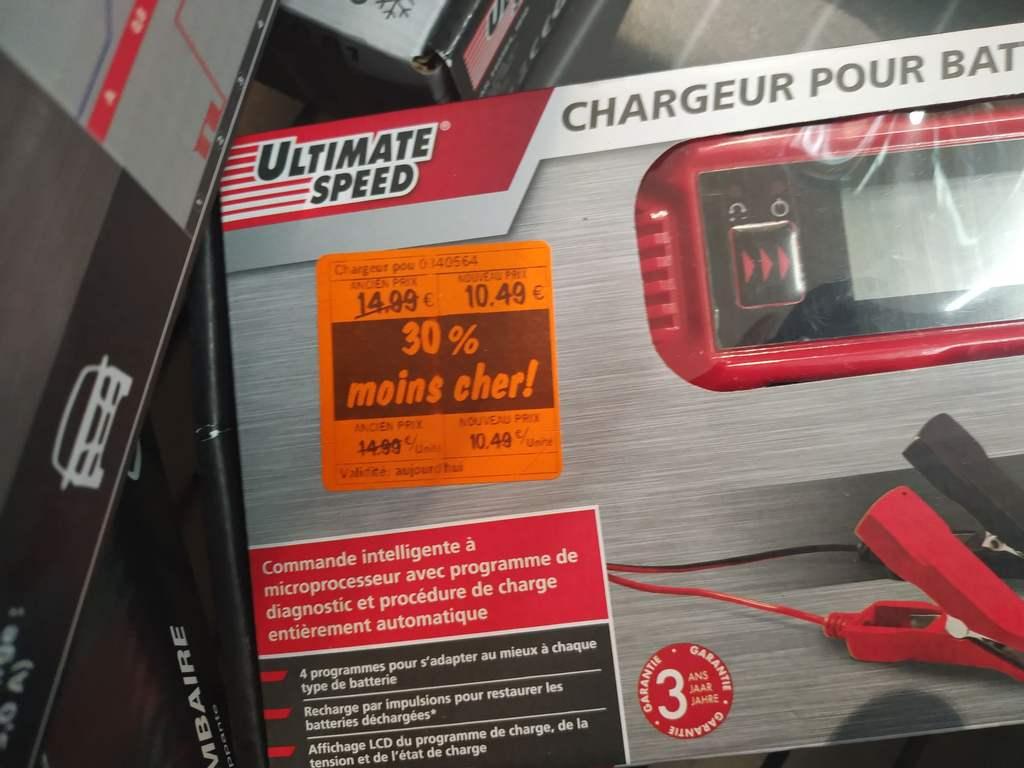 Chargeur de batterie voiture Ultimate Speed - 12V 6V - Périgny (39)