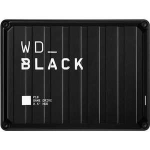 """Disque dur externe 2.5"""" Western Digital Black P10 Game Drive - 4 To"""