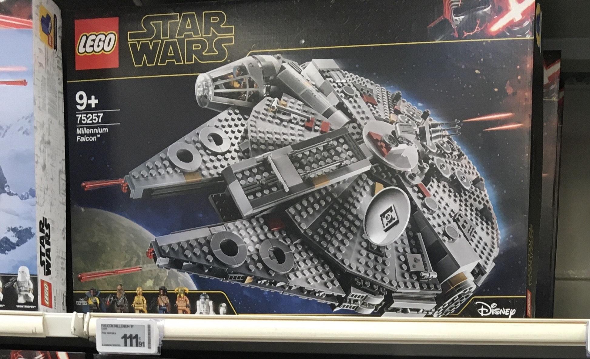 Jeu de construction Lego Star Wars - Le Faucon Millenium (Leclerc Nantes Atlantis - 44)