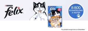 Echantillon de friandises pour chat Felix Party Mix (consoanimo.com)