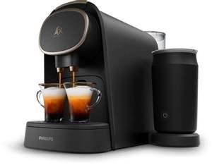 Machine à Café à Capsules avec Mousseur à Lait L'OR Barista LM8018/90 - Premium