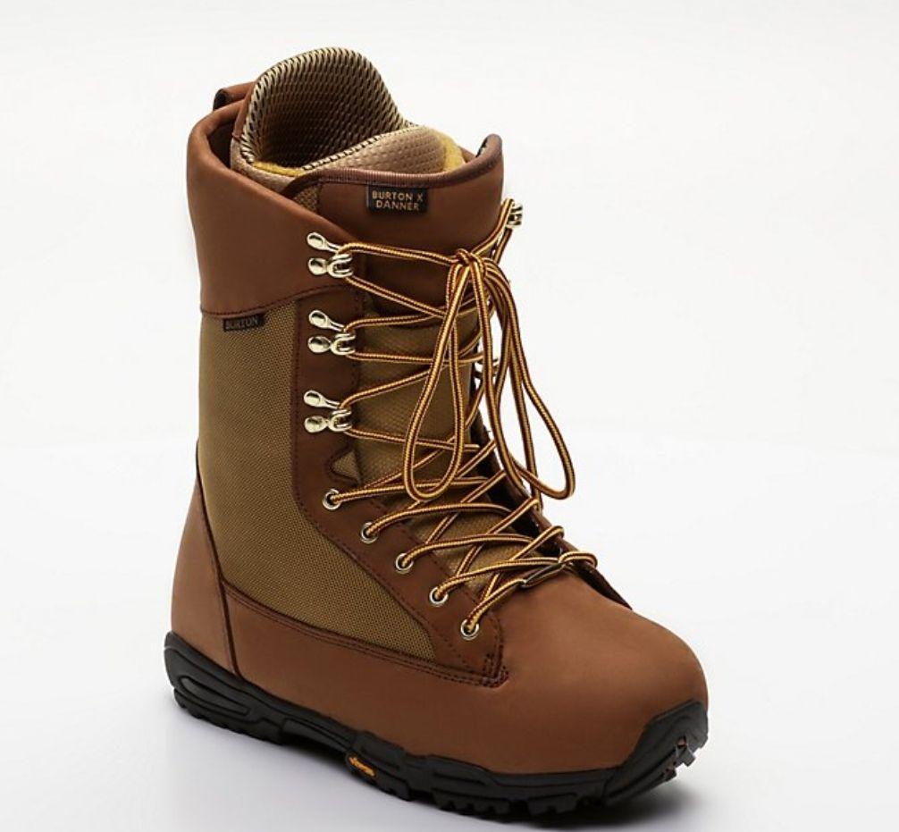 Boots Snowboard Burton Danner Vibram - Marron, Taille 42.5