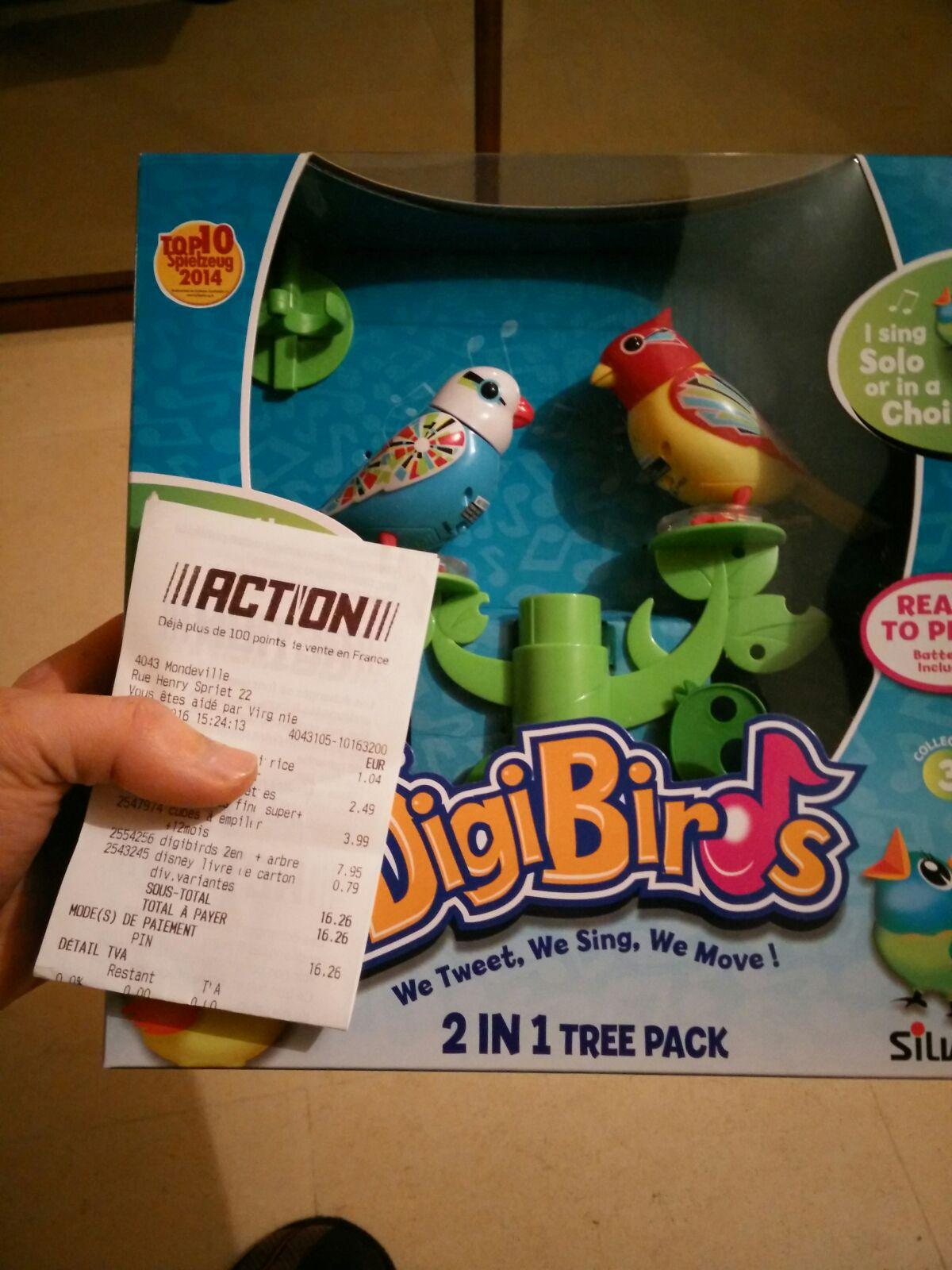 DigiBirds 2 en 1