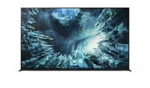 """TV 75"""" Bravia KD-75ZH8 - 8K, HDR, Picture Processor X1 Ultimate, Full Array LED, Acoustic Multi-Audio"""