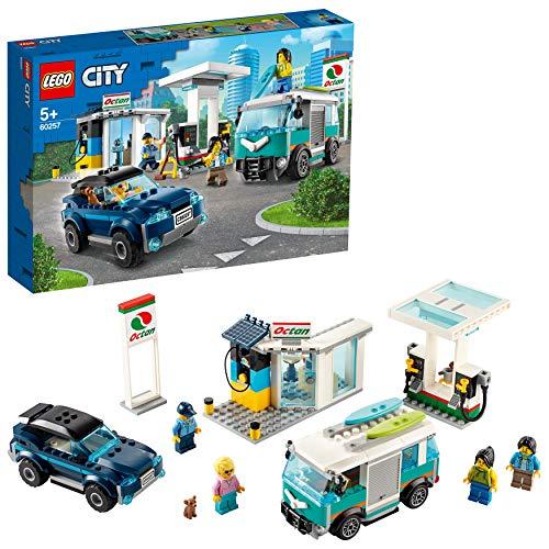 Jeu de construction Lego City - Station Service (60257)