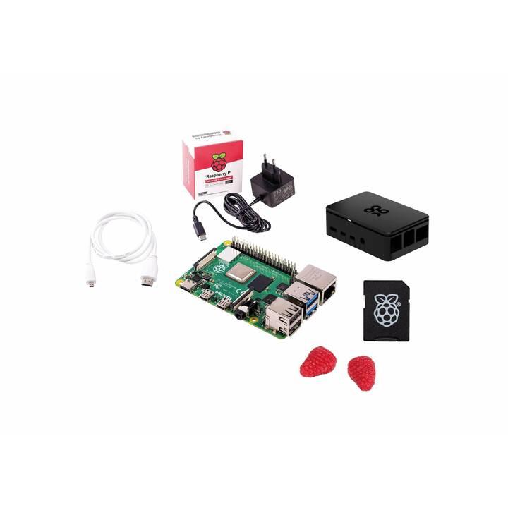 Kit démarrage Raspberry Pi 4B - 4 Go (Frontaliers Suisse)