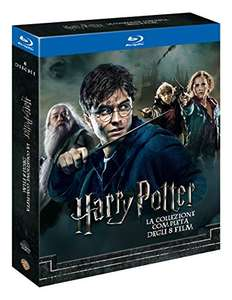 Coffret Blu-Ray Harry Potter Collection - Import Italien (Vendeur Tiers)