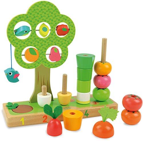 Jouet En Bois Vilac J'apprends À Compter Les Légumes