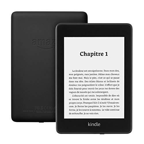 """[Prime] Liseuse 6"""" Kindle Paperwhite - Résistant à l'eau, Écran haute résolution 8Go, Avec offres spéciales"""
