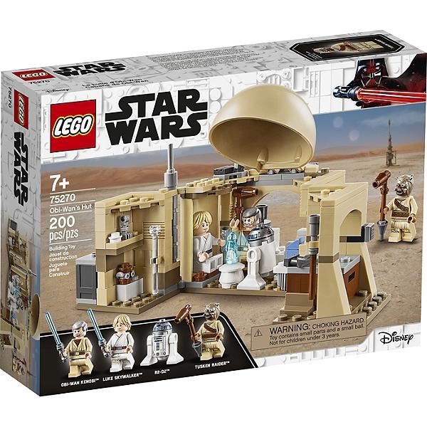 Sélection de Lego en promotion - Ex : Lego Star Wars - La Cabane d'Obi-Wan - 75270 (via 3€ sur la carte)