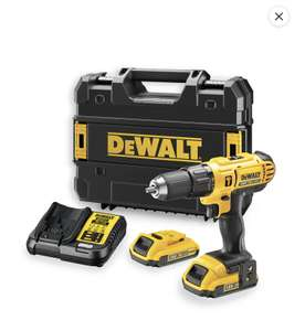 Coffret Perceuse à percussion Dewalt 18V DCD776D2 QW + 2 batteries 2 Ah + chargeur