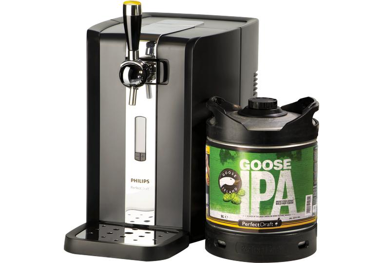 Tireuse à bière Philips Perfect Draft HD3720/26 + 1 fût Goose Island (6L)