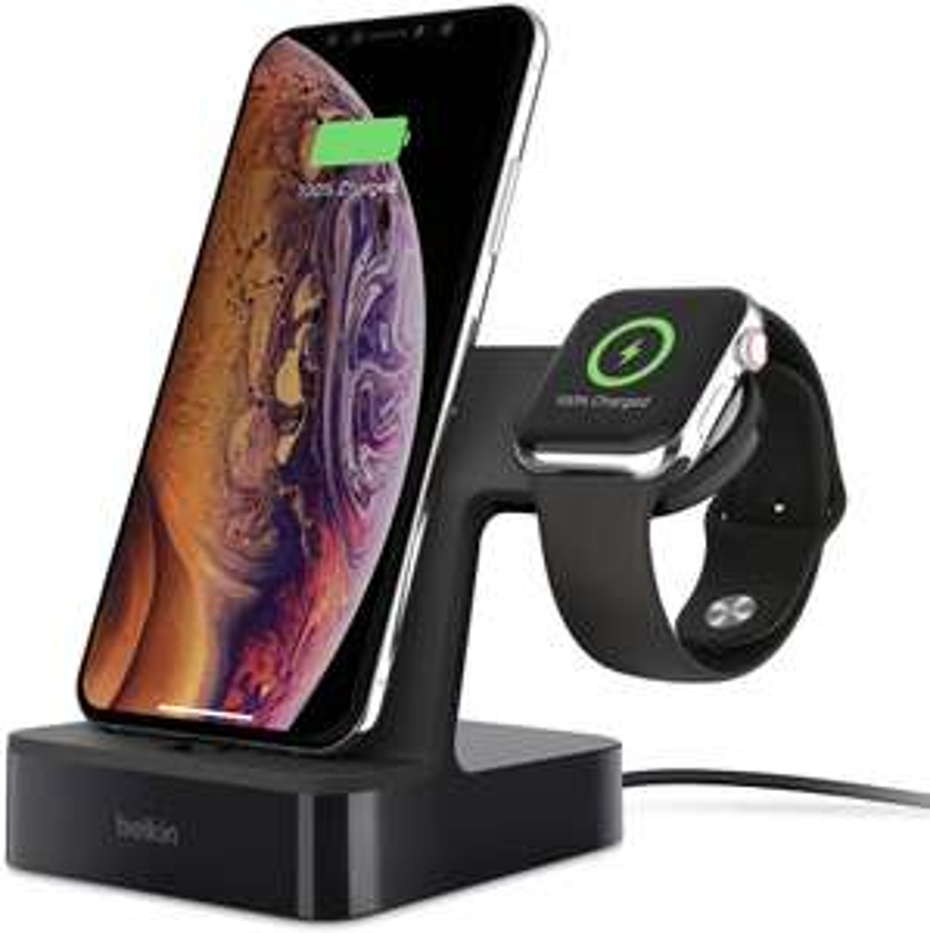[Prime] Station de Recharge Belkin pour Apple Watch et iPhone