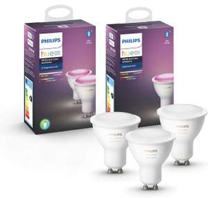 [Prime DE] Pack de 3 ampoules Philips Hue GU10 Color