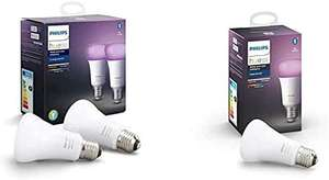 [Prime] Pack de 3 Ampoules LED Connectées Philips Hue White & Color Ambiance E27