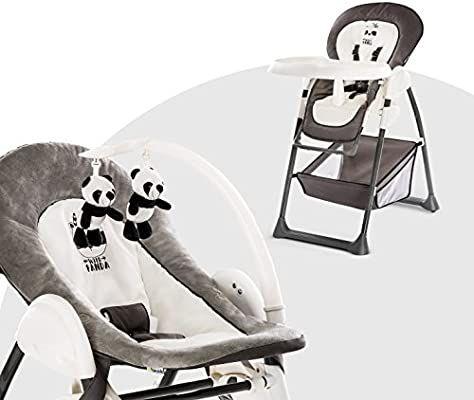 [Prime] Chaise Haute Bébé 3 en 1 évolutive Hauck Sit N Relax